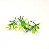 Polyethylene leaves of plants, 30pcs.