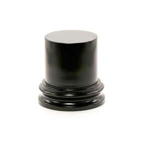 Display cylindrical turning plinth, d55 h65, black