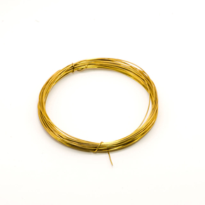 Brass wire soft, diameter 0.50 mm, 5 meters