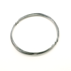 Galvanized steel wire, diameter 0.5 mm, 2 m