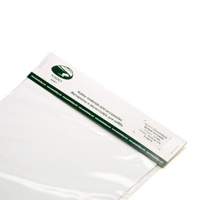 Polystyrene sheet white 0.3 mm 3 sheet 20x30cm