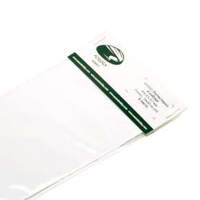 Polystyrene sheets set 0.3, 0.5, 0.7 mm 3 sheet 10x20 cm