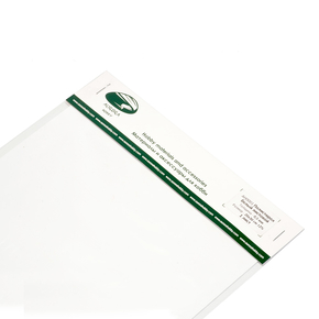 Polystyrene sheet white 1.0 mm 1 sheet 20x30cm